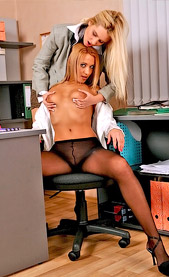 Lesbian secretary sex